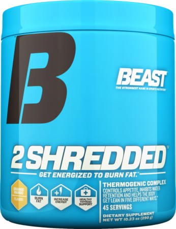 2 Shredded by Beast Sports Nutrition