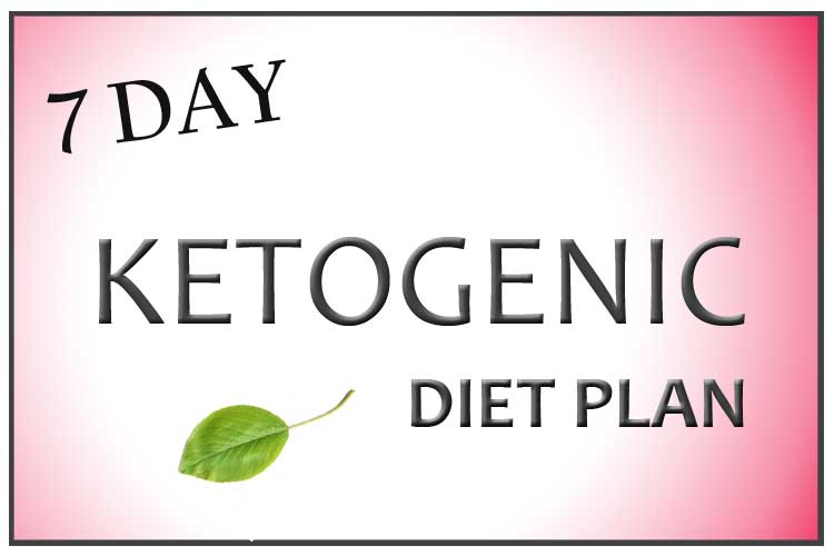 7 Day Ketogenic Diet Plan